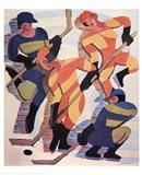 Hockey Players Art Print