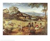 Haymaking Art Print