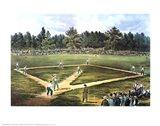 National Game of Baseball Art Print