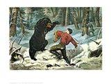 Life of a Hunter Art Print