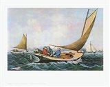 Trolling for Bluefish Art Print