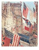 Allies Day May 1917 Art Print