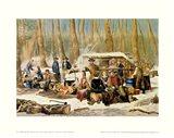American Forest Scenes Art Print
