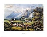 The Rocky Mountains Art Print