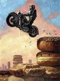Dark Rider Again Art Print