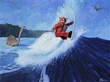 Surfer Joe Art Print