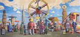 Fairgrounds Art Print