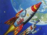 Space Patrol 2 Art Print