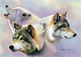Wolves are Forever Art Print