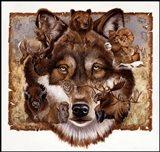 Wolf's World Art Print