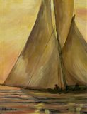 Sailboat 2 Art Print