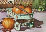 October Harvest Art Print