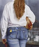 County Fair Girl Art Print