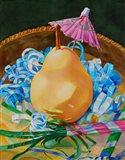 Party Pear Art Print