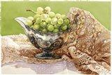 Dancing Loon Grapes Art Print