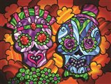 Day of the Dead 1 Art Print