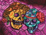 Day of the Dead 2 Art Print