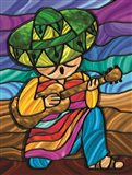 Sombrero 2 Art Print