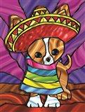 Sombrero 3 Art Print