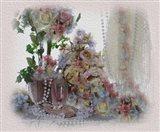 Petals and Pearls Art Print