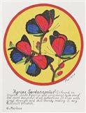 Agrias Sardanaplaus Art Print