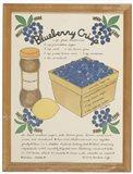 Blueberry Crisp Art Print