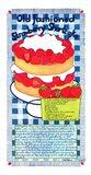 Old Fashioned Strawberry Shortcake Art Print