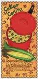 Calico Corn Art Print