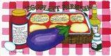 Eggplant Parmesan Art Print