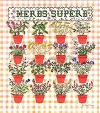 Herbs Superb Art Print