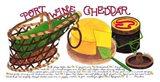 Port Wine Cheddar Art Print