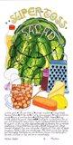 Super Toss Salad Art Print