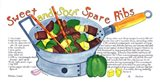 Sweet and Sour Spare Ribs Art Print
