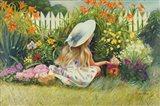 In Mother's Garden Art Print