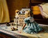 The Doll House Art Print