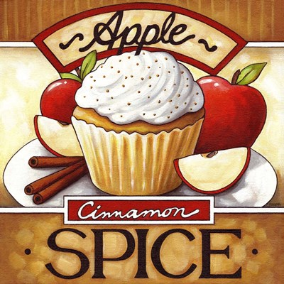 Cupcake Apple Cinnamon  Spice