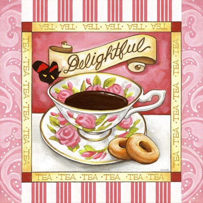 Tea Delightful Pink Teacup