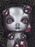 Ladybug Girl Art Print