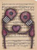Nuestro Amor Eterno Art Print