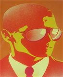 Suit and Shades Art Print