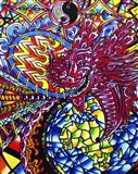 African Dragon Art Print