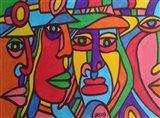 Chilean Faces Art Print