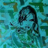 Revolver Greens Art Print