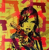 Revolver Yellows Art Print