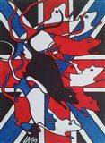 Union Rat Art Print