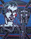 Head Phones Art Print
