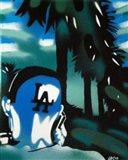 L.A. Green Art Print