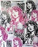L.A.Woman 2 Art Print