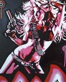 Revolver Girl 1 Art Print