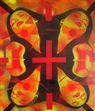 Sunshine Spin Art Print